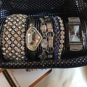 7 Crystal Bracets